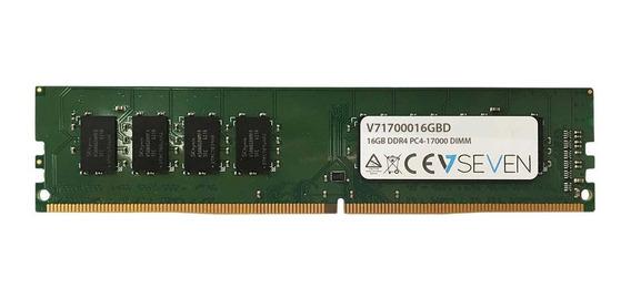 Memoria Ram 16gb V7 Ddr4 2133mhz Cl15 Dimm Pc4-17000 1.2v (v71700016gbd)