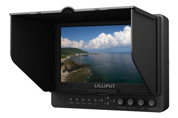 Monitor Lilliput 7 Black - Liquida - 665gl-70np Full Hd