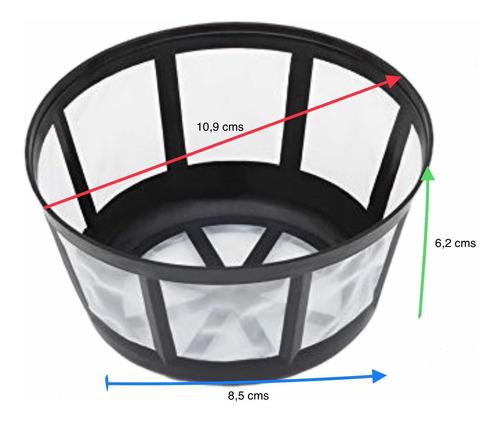Repuesto Filtro Permanente Cafetera 10-12 Tazas Mr Coffee