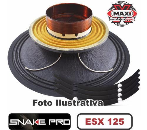 Kit Reparo Snake Pro Esx 125 12  8 Ohms 400w Original 800w