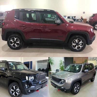 Jeep Renegade Trailhawk Diesel 2020 Blindado R$ 168.000