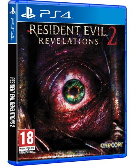 Jogo Resident Evil Revelations 2 Ps4 Midia Fisica Nacional