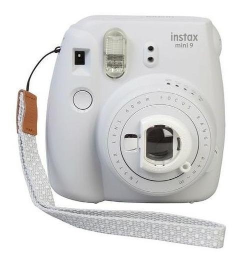 Câmera Revelação Instantânea Fujifilm Instax Mini 9 Branco