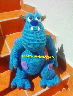 Monsters Inc [CROCHET FREE PATTERNS] #crochet #freecrochetpattern ... | 320x245
