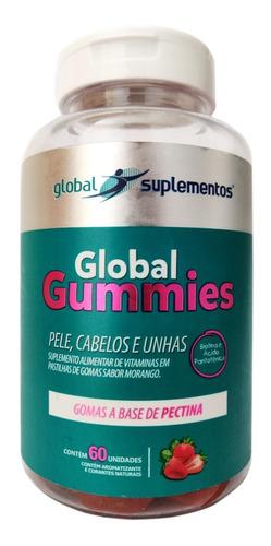 Vitamina Gomas - Pele, Cabelos E Unhas 60 Gomas Vitaminadas