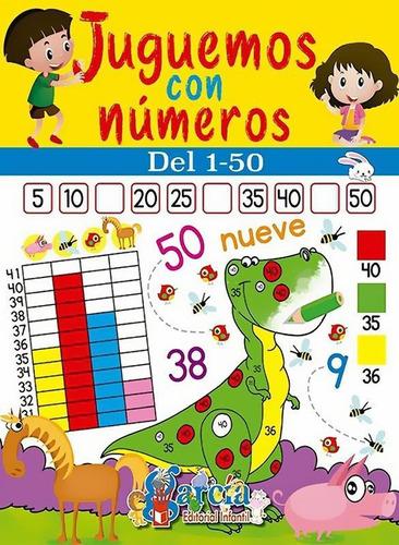 Imagen 1 de 11 de Juguemos Con Números Del 1-50 - García