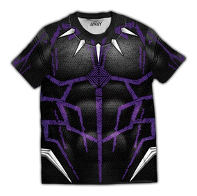 Camiseta Masculina Pantera Negra Vingadores Ultimato Blusa