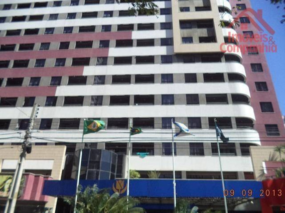 Excelente Flat Com Vista Mar, À 200 Metros Da Beira Mar, O Flat É Administrado Pela Rede Hoteleira Tullip Inn Fortaleza, Meireles, Fortaleza, Ceará - Fl0031