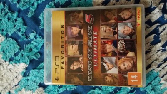 Dead Or Alive 5 Ultimate - Mídia Física Playstation 3