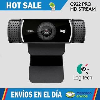 Cámara Web Webcam Logitech C922 Pro Stream - O F E R T A !!!