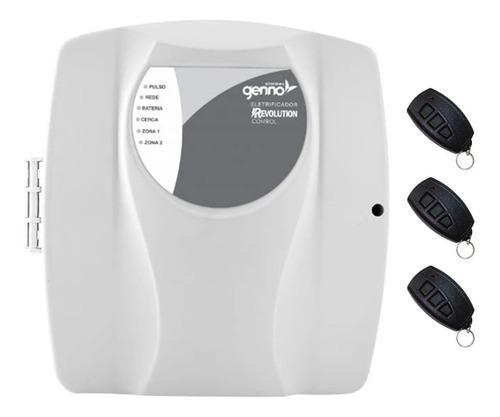 Imagem 1 de 1 de Central De Cerca Elétrica Genno Revolution C/ 3 Controles