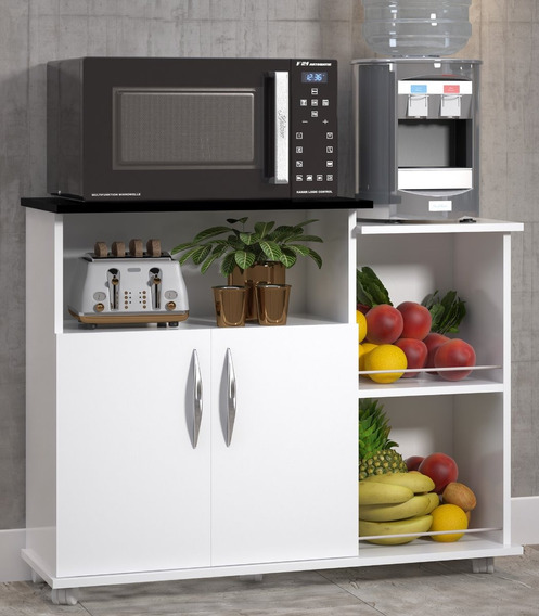 Fruteira De Cozinha Armário Dispensa P/ Microondas E Galão