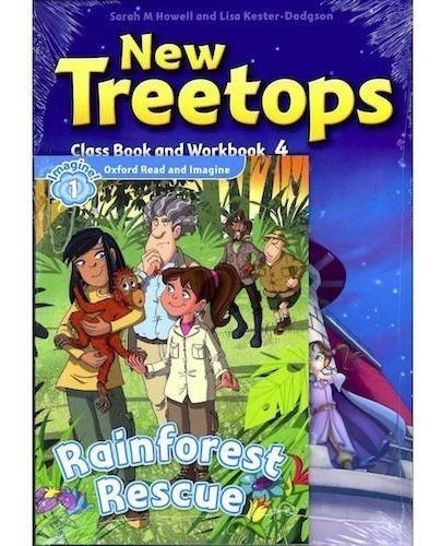 New Treetops 4 - Class Book + Workbook - Oxford