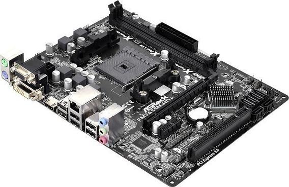 Kit Asrock + Processador A8/fm2 6500 Quad-core