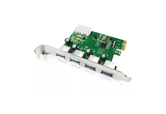 Placa Pci Express Usb 3.0 Comtac 4 Portas 9212