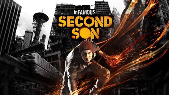 Infamous Second Son Ps4 Inglês Digital Original Play4