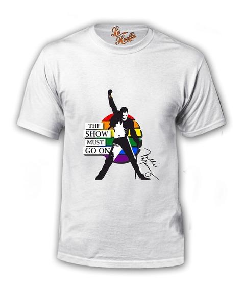 Polera Queen - The Show Must Go On - Bandera Gay / Lho