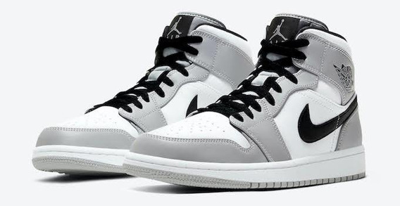 Air Jordan 1 Mid Smoke Gray