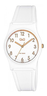 Reloj Q&q By Citizen Dama Sumergible 100m Agente Oficial