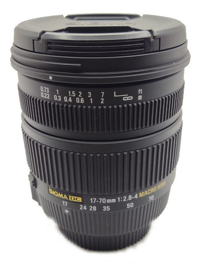 Lente Sigma 17-70mm 2.8 - 4 Macro Hsm Para Nikon