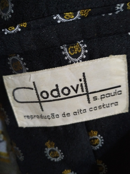 Paletó Clodovil Série Luxo Original