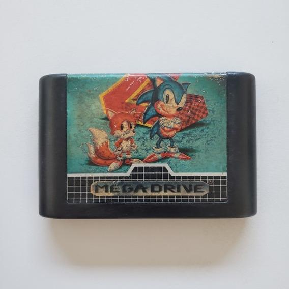 Sonic 2 Original Sega Genesis Game Cube