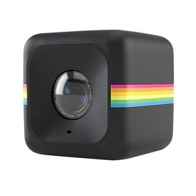 Câmera De Ação Full Hd Cube Polaroid Preta