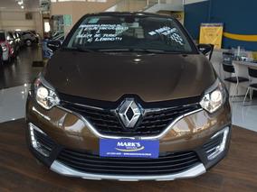 Renault Captur Intense 1.6 16v 2018 Marrom Savane Flex