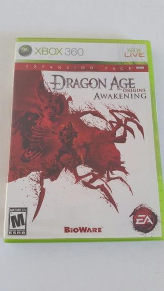 Jogo Xbox360 Dragon Age Origins Awakening - Original Lacrado