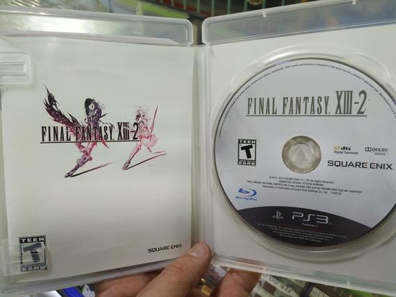 Final Fantasy Xiii 2 Ps3 Mídia Física Original Usado Zerado