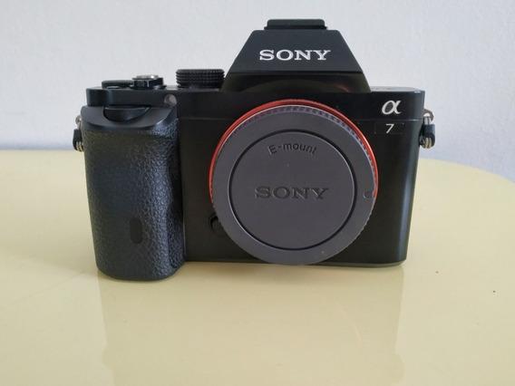 Câmera Sony A7 23k Cliques + Acessórios