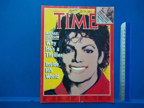 Revista Time Michael Jackson 1984 Nr 12