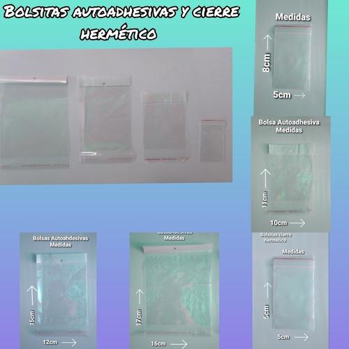 Bolsa Transparente Cierre Hermético Tipo Zipplo Pack