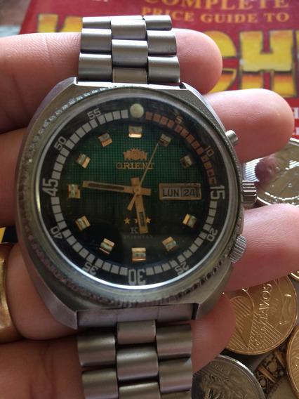 Relógio Orient Diver Cebolão ( Leia A Descrição)