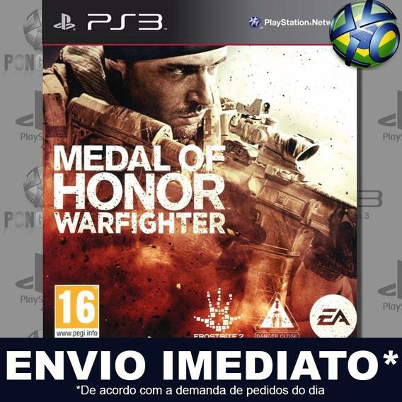 Medal Of Honor Warfighter Ps3 Psn Jogo Em Promoção Play 3