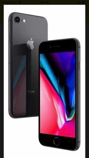 iPhone 8 64 Gb Preto Matte Lindo/ Acompanha Acessórios