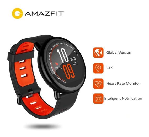 Relógio Amazfit Pace Gps +película + Pulseira Extra/strava