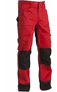 152318605699C154 Trousers Size 38//34 IN Red//Black Metric Size C154