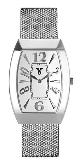 Relógio Pulso Jean Vernier Aço Inoxidável Unissex Jv00011a
