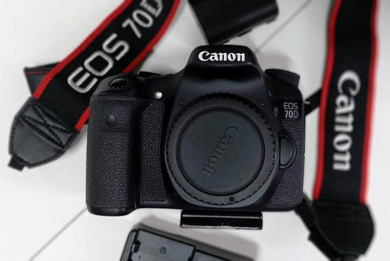 Câmera Digital Canon 70d Corpo
