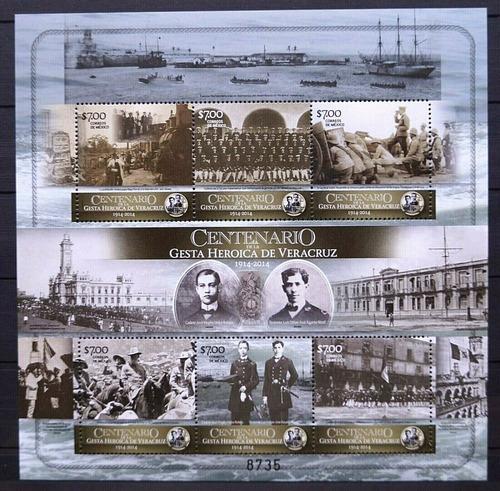 Imagen 1 de 1 de México 2014 : Centenario De La Gesta Heroica De Veracruz