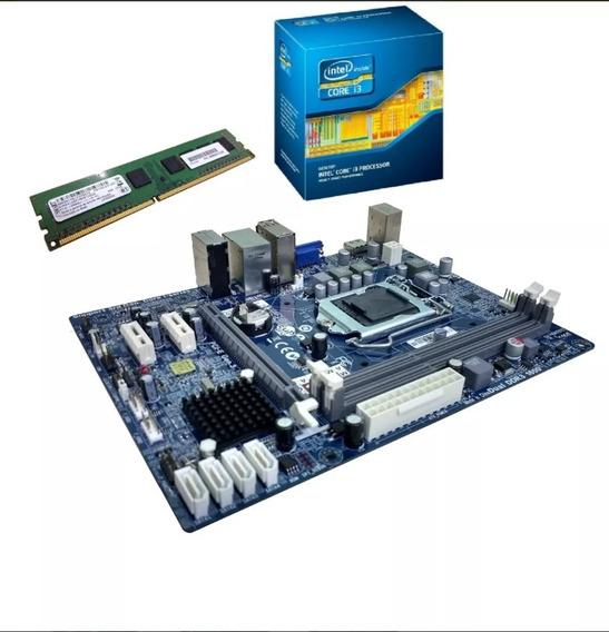 Kit Upgrade I3 3,4ghz Placa Mae 4gb Ram Promocao Nota Fiscal
