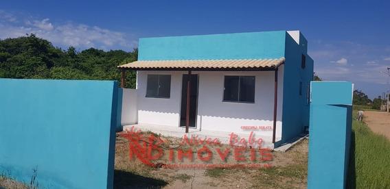 Casa 2 Quartos Em Unamar, Cabo Frio - Vcac 217 - 33600571