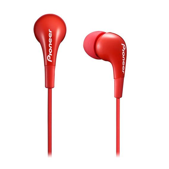 Auriculares Pioneer Rojo In Ear Se-cl502 Ideal iPhone/celu