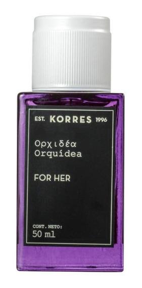 Perfume Korres Orquidea Feminino Eau De Cologne 50ml