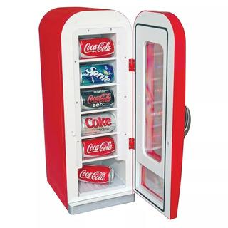 Mini Enfriador Vending Coca-cola Retro 10 Latas, Cvf1 Oferta
