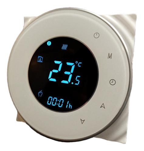 Termostato Wifi Para Piso Electrico  Htw-wf06-16a