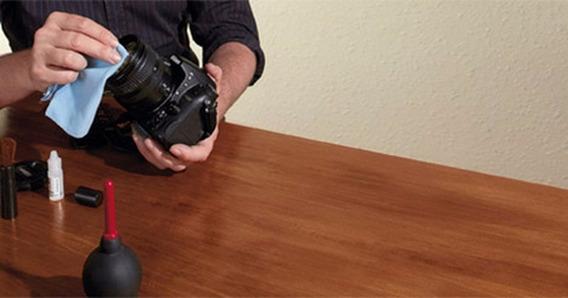 Kit Limpeza Lentes - P/ Cameras Fotograficas