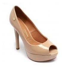 Zapatos Vizzano Dama Punta Abierta Color Nude Taco Fino. Divinos!
