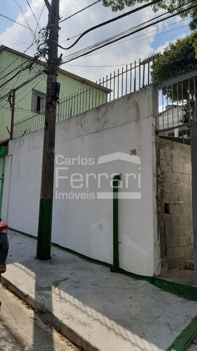 Imagem 1 de 6 de Casa Com 02 Quartos À Venda, 60 M²  Terreno 278 M² Por R$ 650.000 - Tucuruvi - São Paulo - Sp - Cf27543